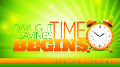 Daylight Savings Time Begins (Spring Forward)