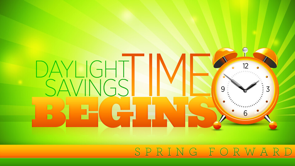 Clocks go forward 2017 for When was daylight savings time started