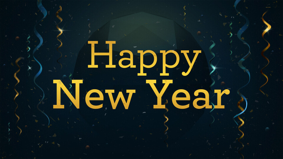 We wish everyone a Happy New Year!